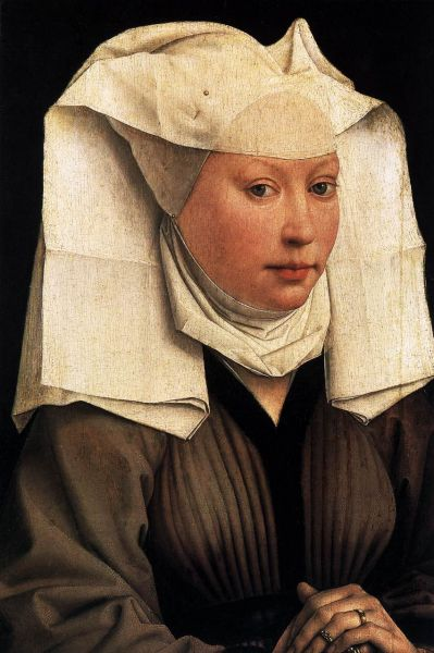 lady wearing a gauze headdress c. 1445.preview