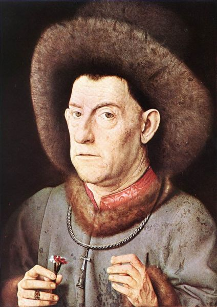 portrait of a man with carnation c. 1435.preview