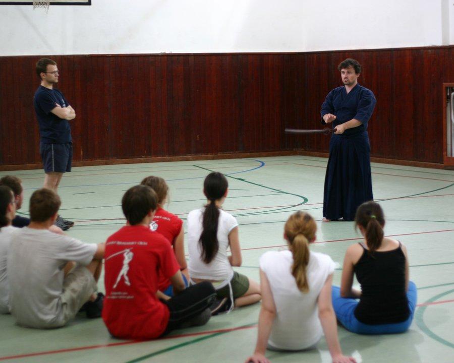 Článok: Prednáška Kenjutsu/Kendo